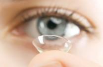 Óculos de grau e lente de contato